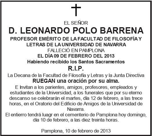 Carta De Funeral